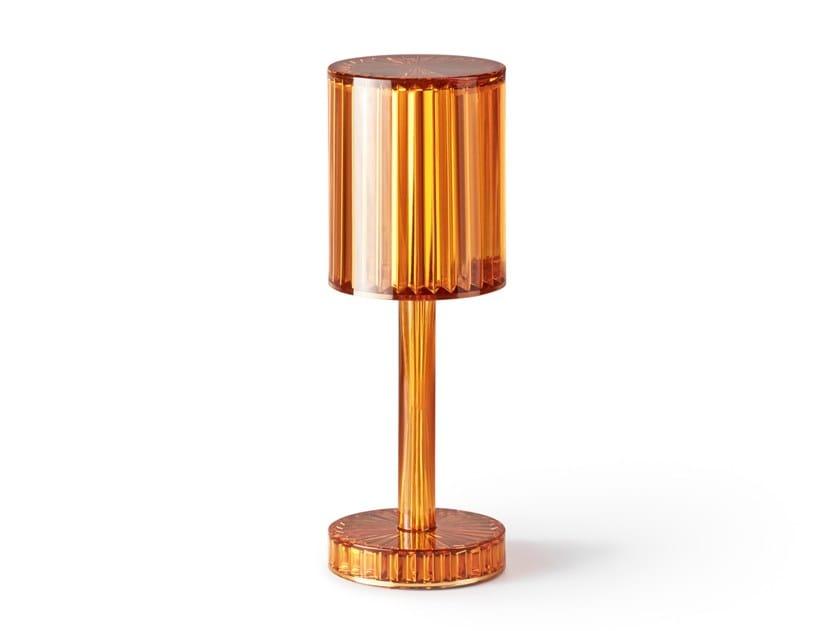 Lampada da tavolo per esterno senza fili in vetro gatsby by vondom