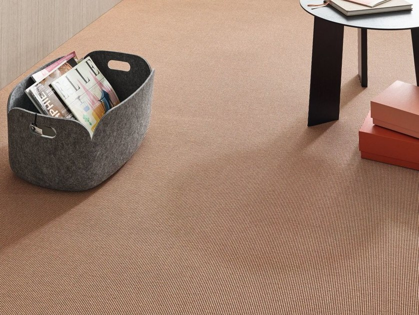Solid-color carpeting GATTEA by Vorwerk Teppichwerke
