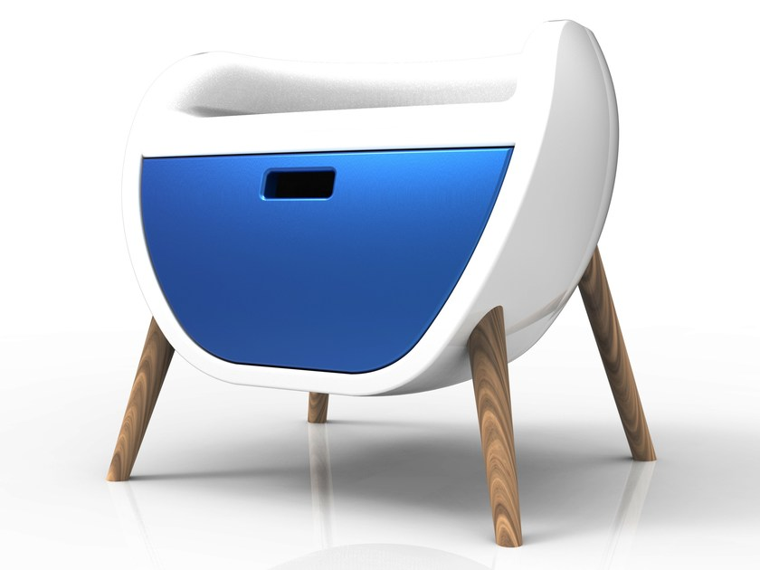 Kids' bedside table GAUCHE | Kids' bedside table by ZAD ITALY