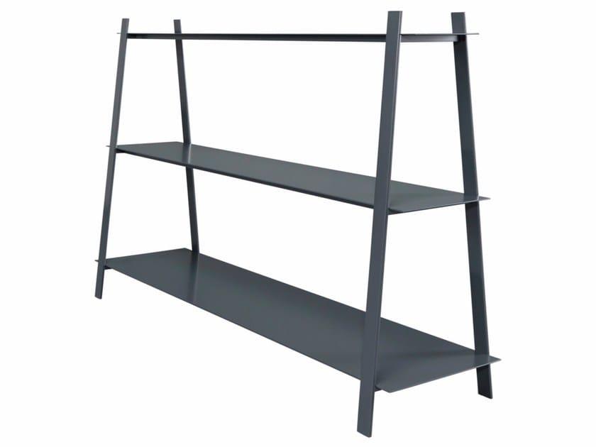 Steel shelving unit GAUDI by AZEA