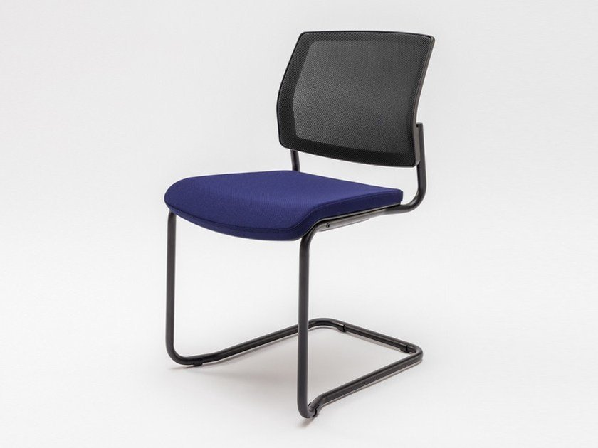 Cantilever upholstered chair GAYA | Cantilever chair by MDD