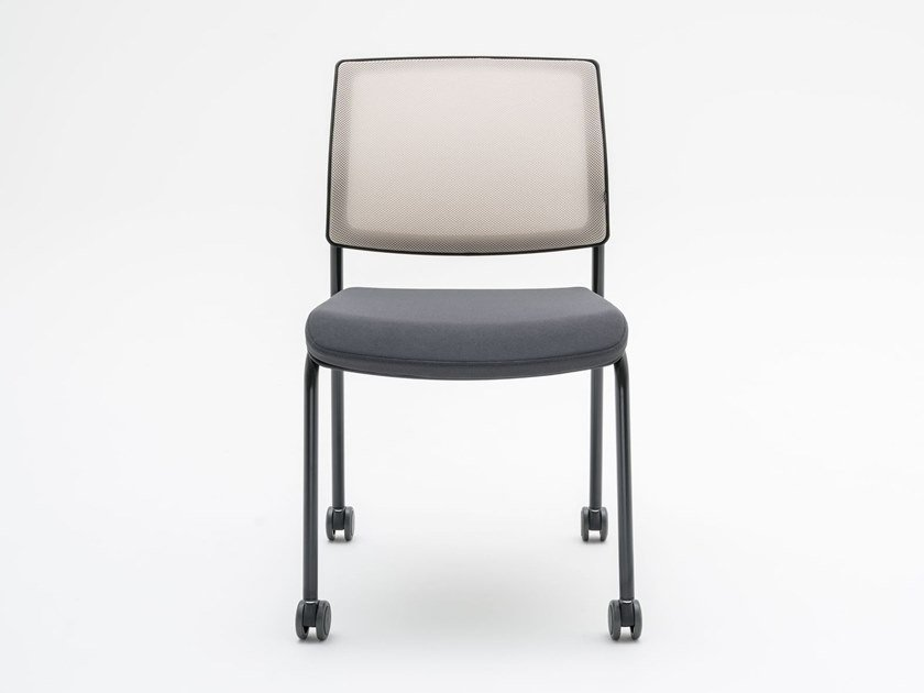 Ergonomic chair with castors GAYA-K | Chair with castors by MDD