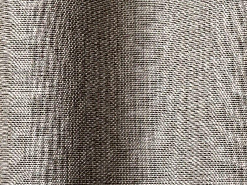 Solid-color linen fabric GAZELLE by Dedar