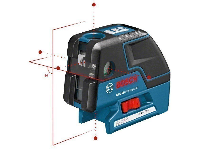 Optical and laser levels GCL 25 Professional by BOSCH PROFESSIONAL