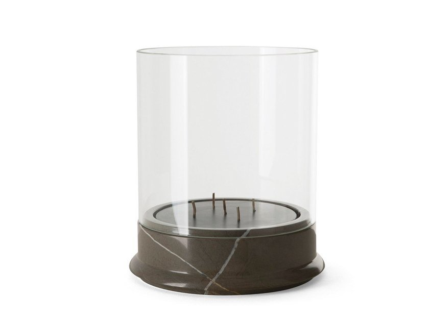 Marble candle holder GEA | Candle holder by GIORGETTI