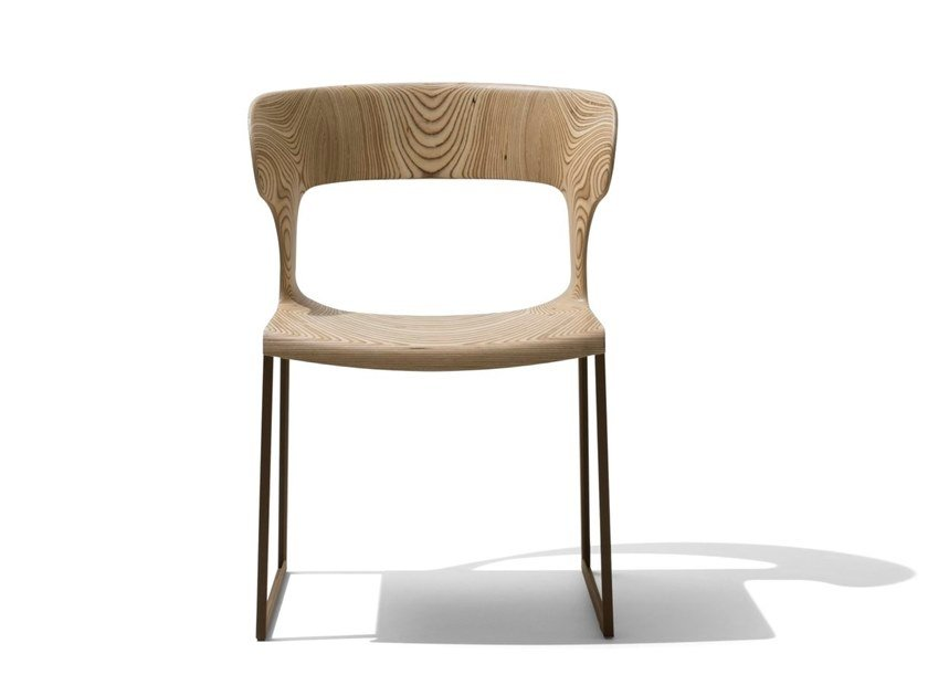 Sled base garden chair GEA | Garden chair by GIORGETTI