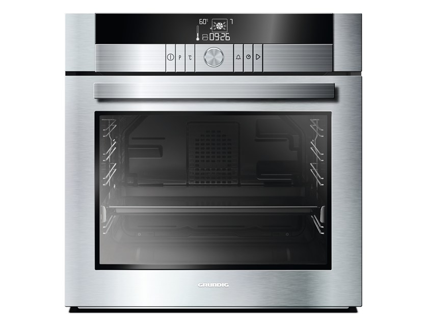Touch screen built-in electric steel oven Class A + GEBM 34001 XP | Multifunction oven by Grundig