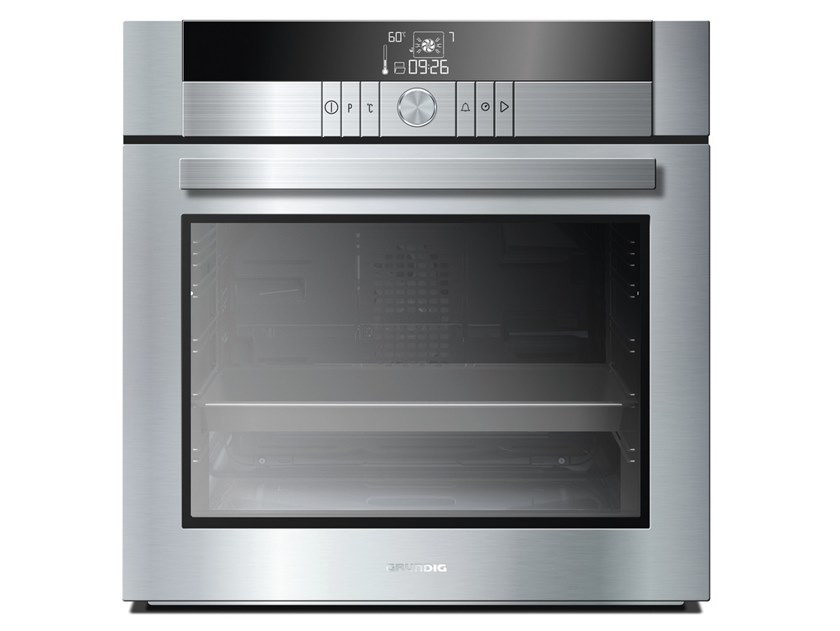 Gas built-in multifunction steel oven Class A + + GEBM 34003 X | Multifunction oven by Grundig