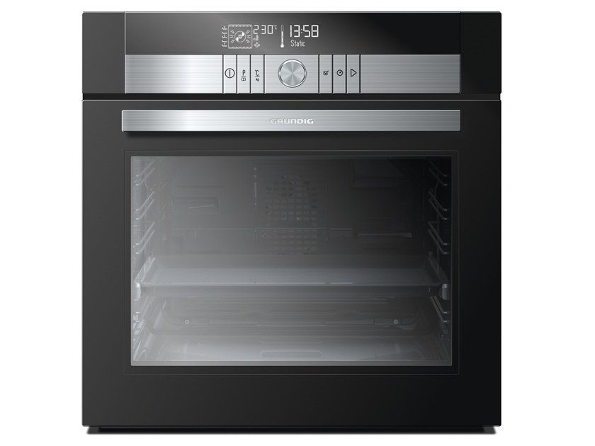 Electric multifunction touch screen glass oven Class A GEBS 46000 BH | Multifunction oven by Grundig