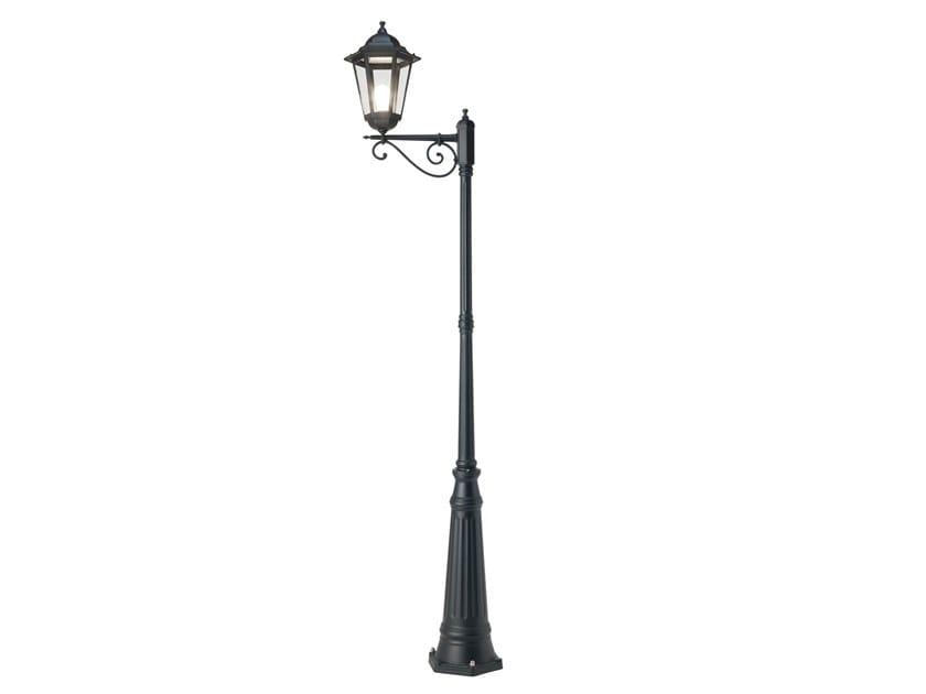 Lampione da giardino a lanterna in alluminio pressofuso GEKO 574 by SOVIL