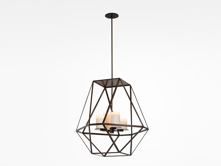 Direct light steel pendant lamp GEM | Pendant lamp by Kevin Reilly Collection