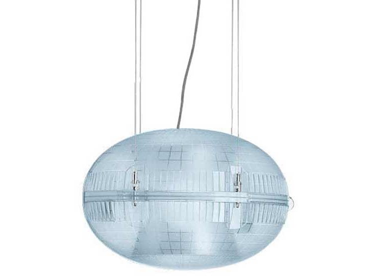 Lampada a sospensione a LED in policarbonato GEM by iGuzzini
