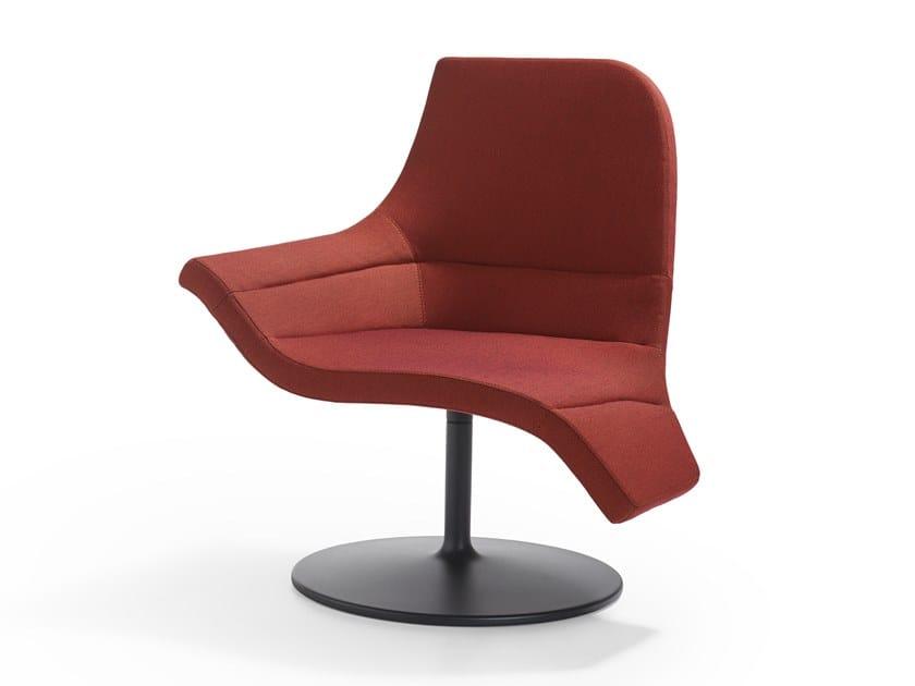 Swivel fabric armchair GEMINI | Swivel armchair by Artifort