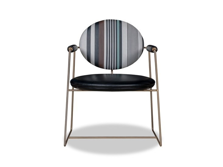 Medallion chair with armrests GEMMA SPECIAL EDITION by BAXTER