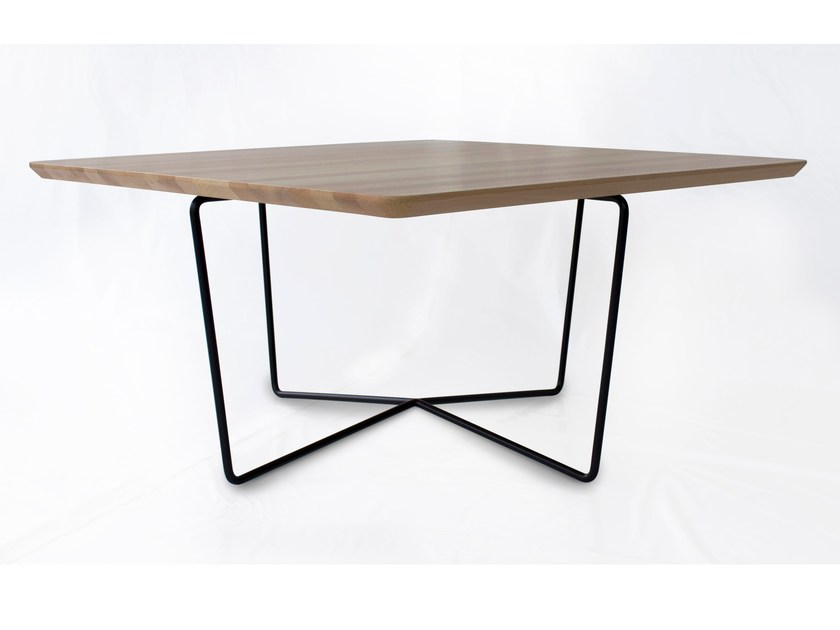 Square coffee table for living room GEMMA | Square coffee table by Altinox