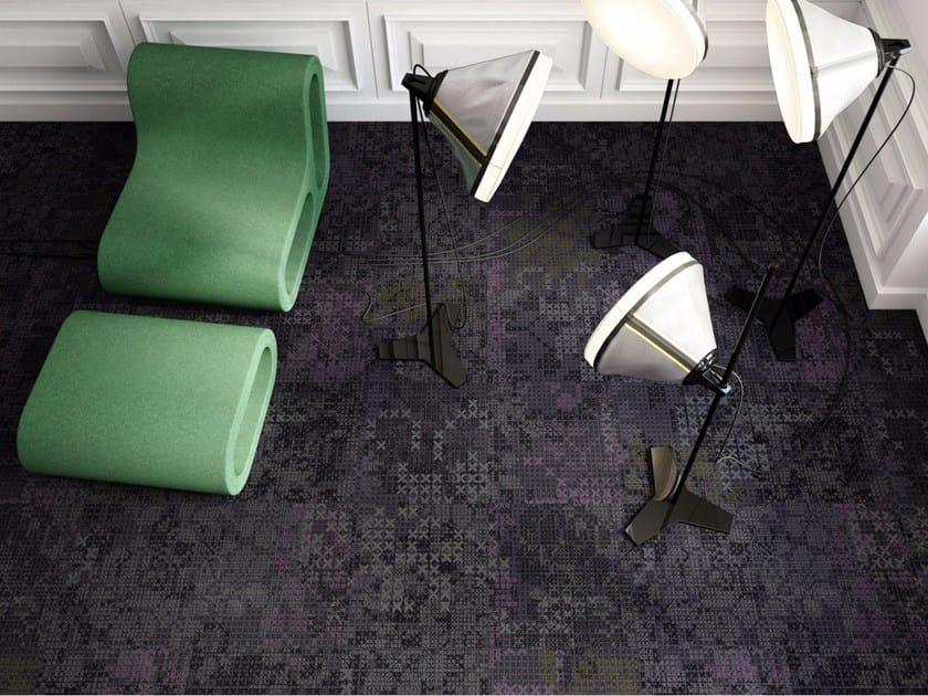 Patterned carpet tiles GENEVA by OBJECT CARPET GmbH