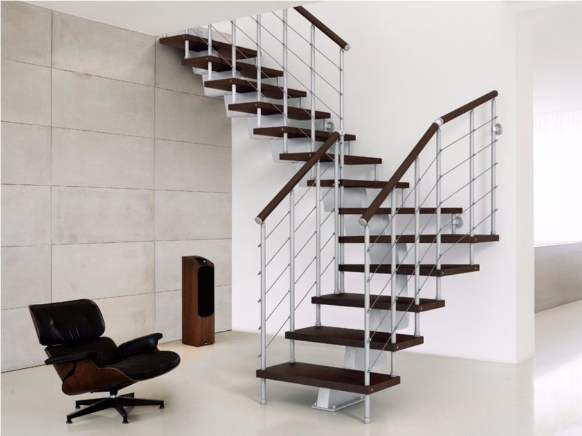 Stainless steel Open staircase GENIUS 010 | Open staircase by Fontanot