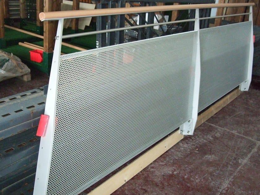 Aluminium balustrade GENOVA by ALUSCALAE