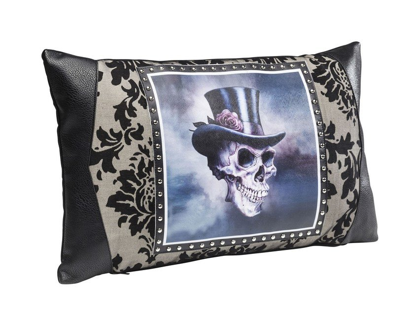 Rectangular cushion GENTLEMEN SKULL 30x50 by KARE-DESIGN