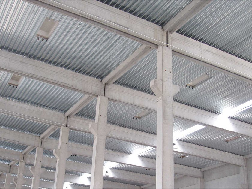 Corrugated and undulated sheet steel GENUS 60 SECCO by UNIMETAL