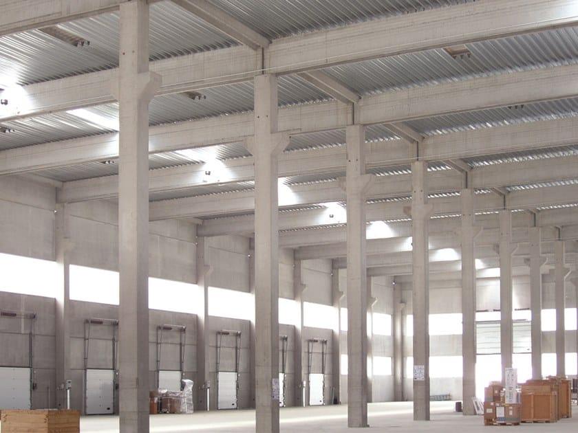 Corrugated and undulated sheet steel GENUS 73 COLLABORANTE by UNIMETAL