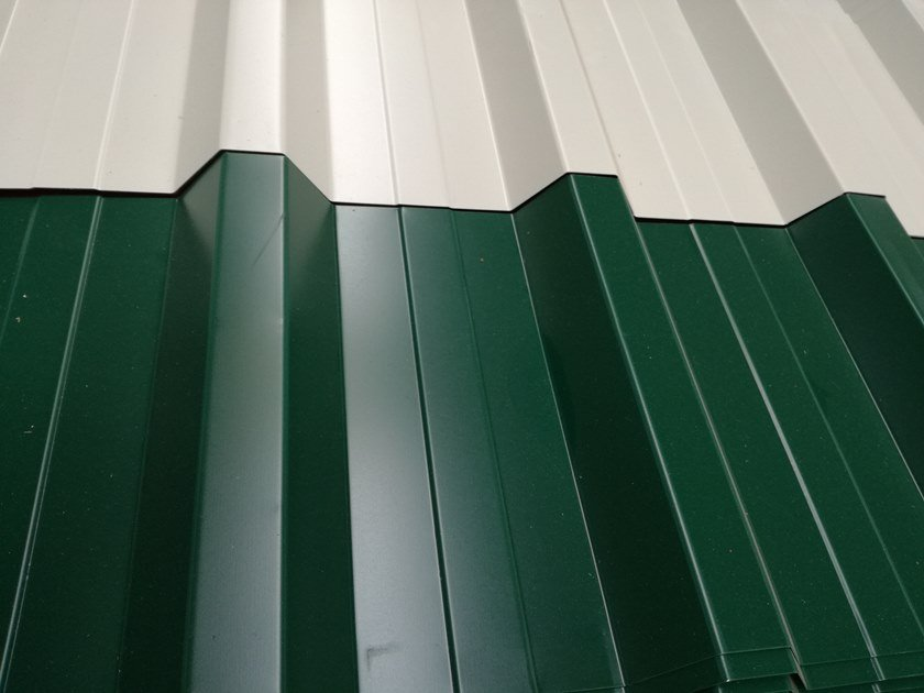 Metal sheet and panel for roof GENUS 950/35 by UNIMETAL