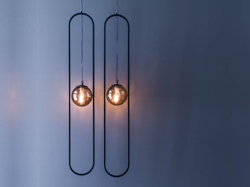 Metal pendant lamp GEO | Pendant lamp by Adriani e Rossi edizioni