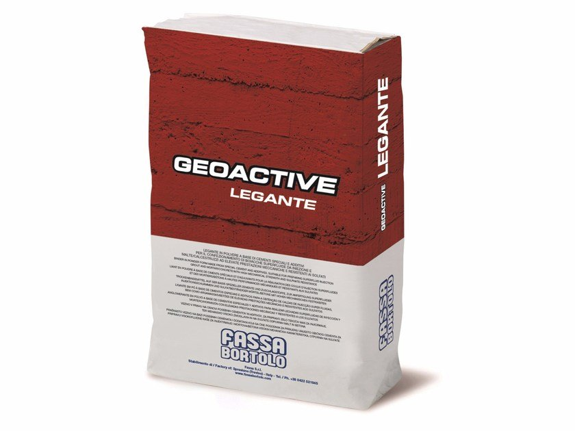 Cement grout GEOACTIVE by FASSA