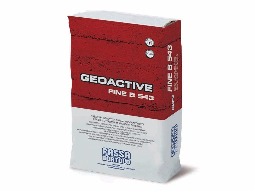 Smoothing compound GEOACTIVE FINE B 543 by FASSA