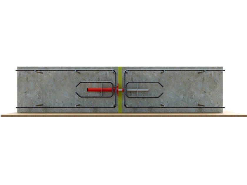 Mechanical Floor slab connector GEOCONNECT® by Tecno K Giunti