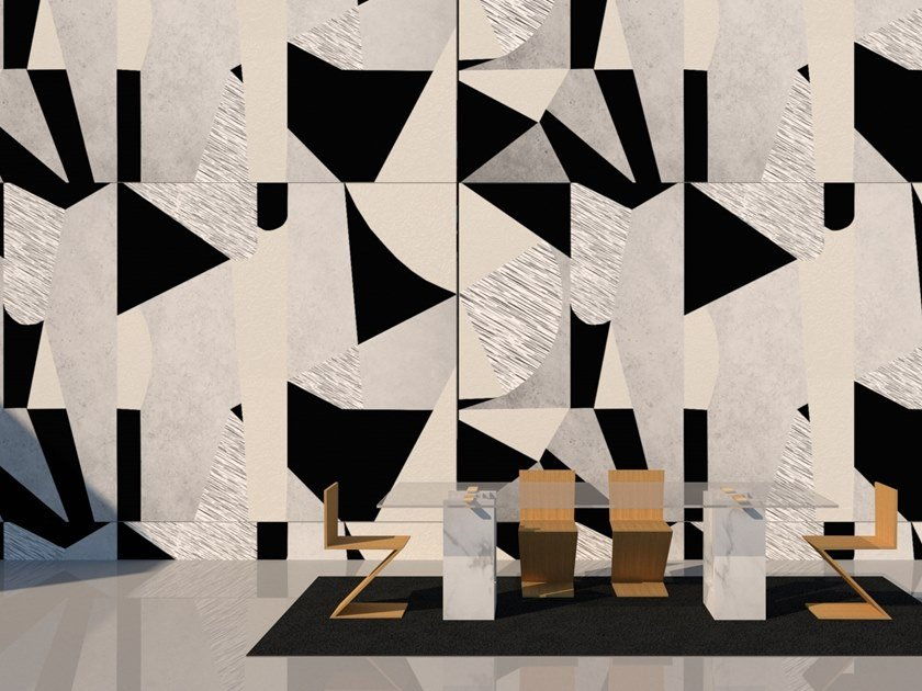 Wall tiles / wallpaper GEOMETRIC by Officinarkitettura®