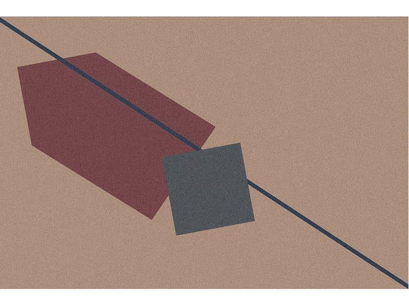 Tappeto per bagno a motivi geometrici GEOMETRIE VOLANTI | Tappeto per bagno rettangolare by Antonio Lupi Design