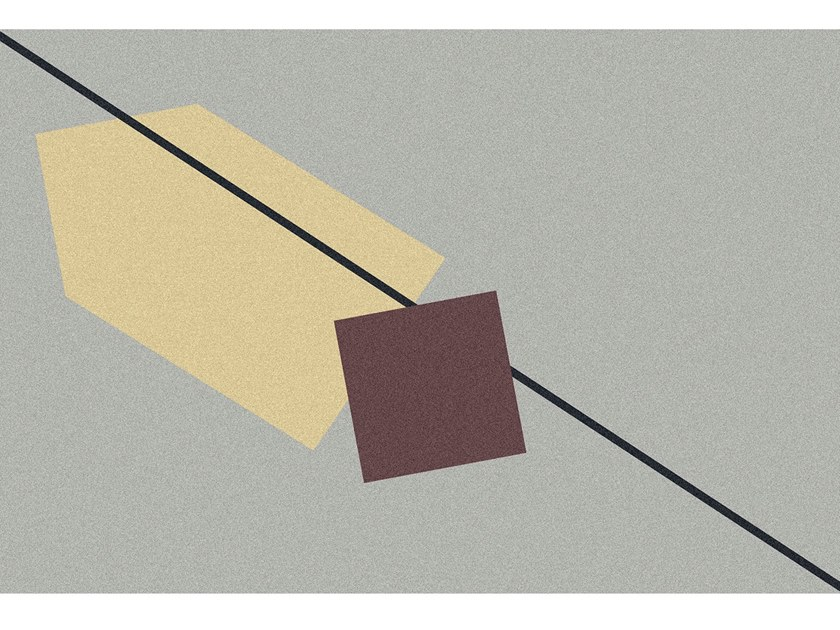 GEOMETRIE VOLANTI | Tappeto per bagno rettangolare
