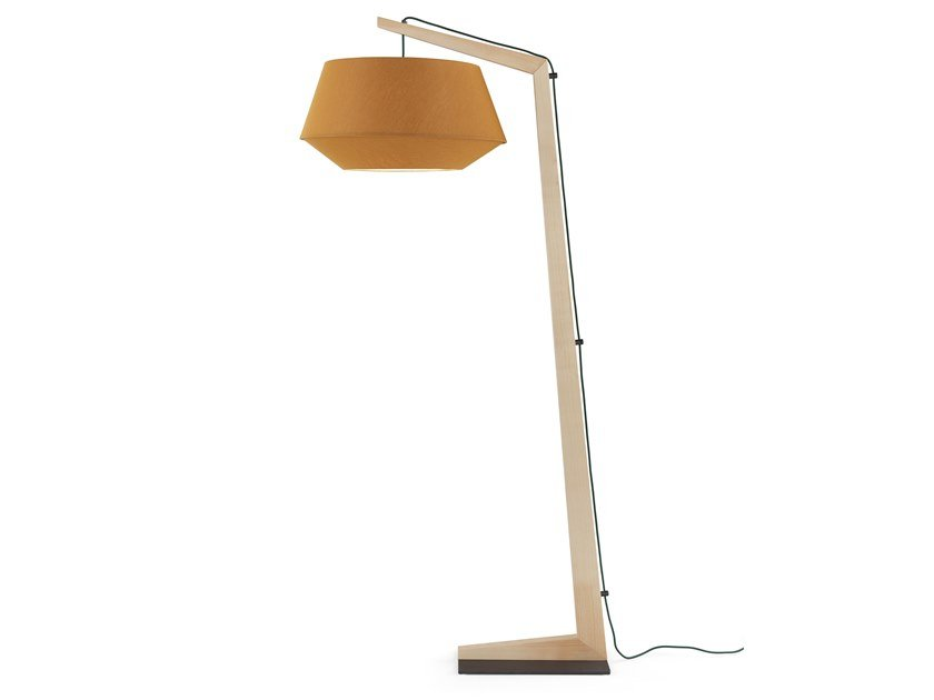 Wooden floor lamp GEPPETTO by Egoitaliano