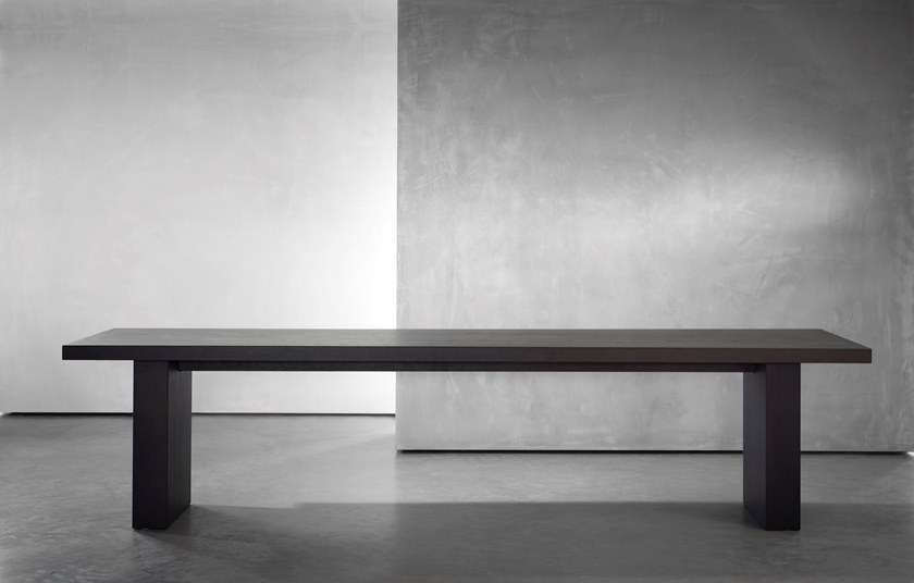 Scrivania Angolo Dwg : Scrivania tavolo in legno gerrit piet boon