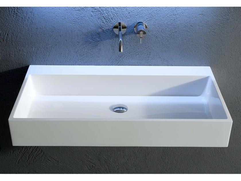 Rectangular Ceramilux® washbasin GESTO | Washbasin by Antonio Lupi Design