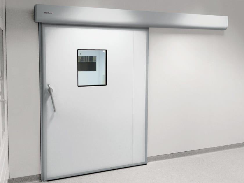Sliding Automatic entry door GEZE HYGIENIC DOOR by GEZE