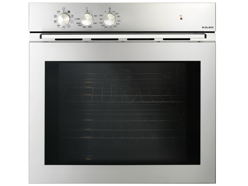 Electric oven with triple glazed door Class A GFE92IXN | Oven by Glem Gas
