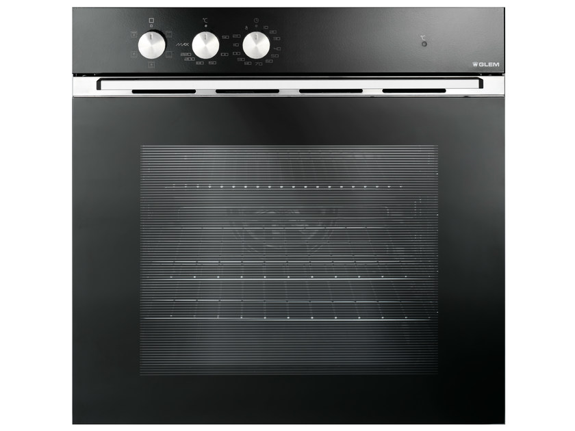 Electric oven with triple glazed door Class A GFM52BKN | Oven by Glem Gas