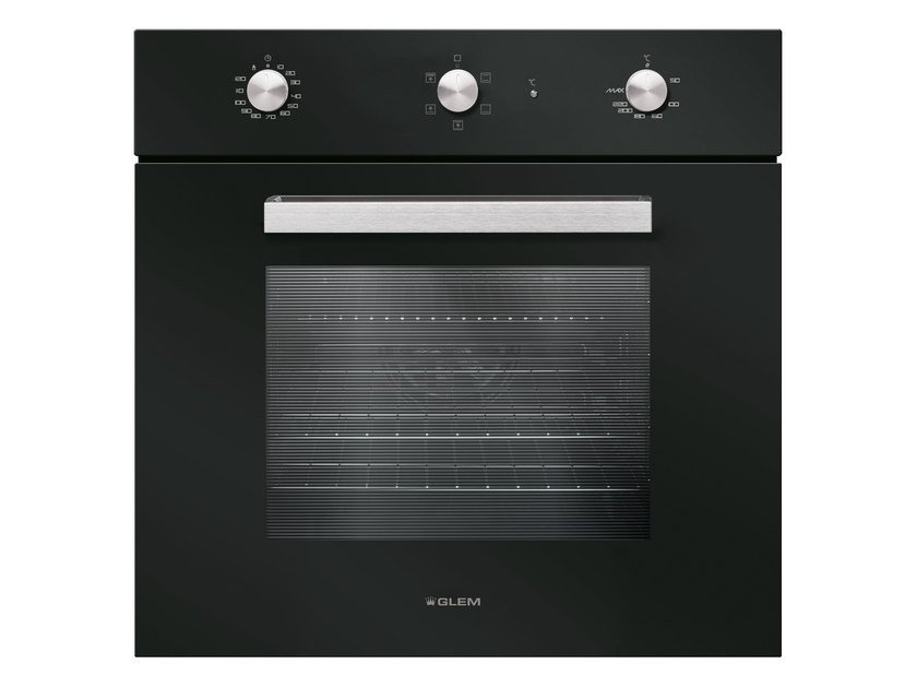 Electric oven with triple glazed door Class A GFS52BK | Oven by Glem Gas
