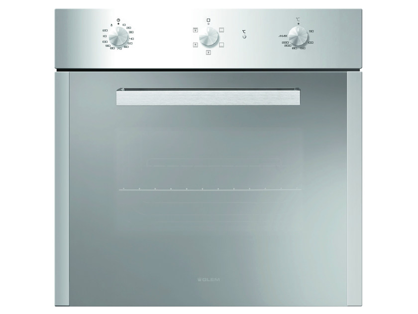 Electric oven with triple glazed door Class A GFS52IX | Oven by Glem Gas