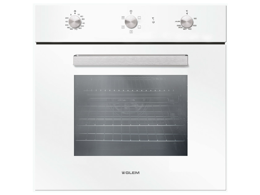Electric oven with triple glazed door Class A GFS52WH | Oven by Glem Gas