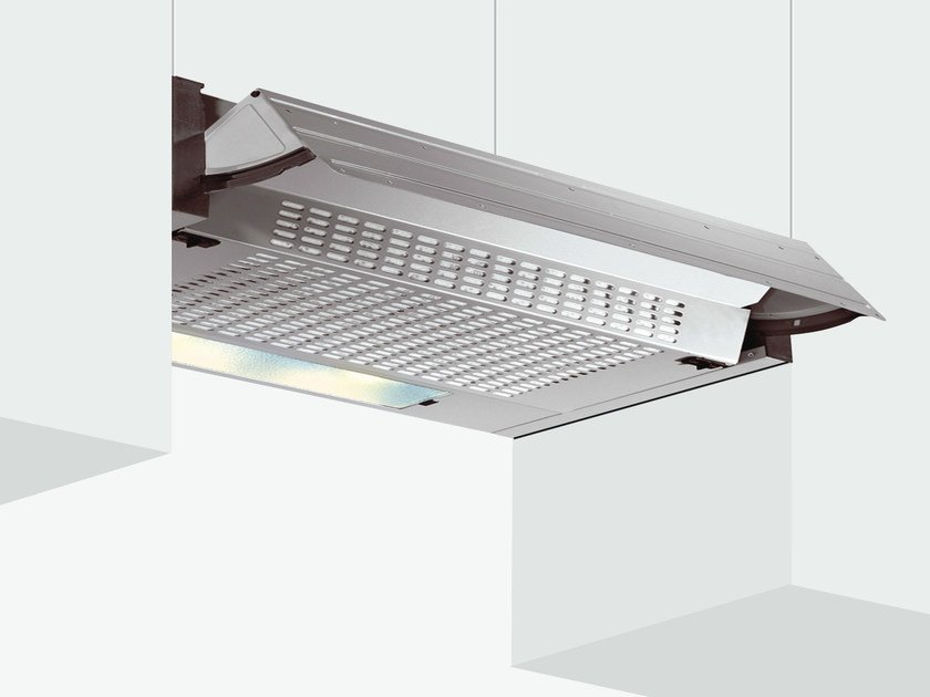 Wall-mounted cooker hood with integrated lighting GHE60SI   Cooker hood by Glem Gas