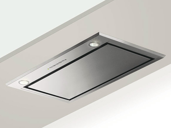 Ceiling-mounted built-in cooker hood GHFP57IX | Cooker hood by Glem Gas