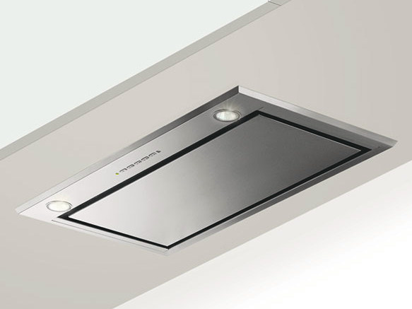 Ceiling-mounted built-in cooker hood GHFP77IX | Cooker hood by Glem Gas