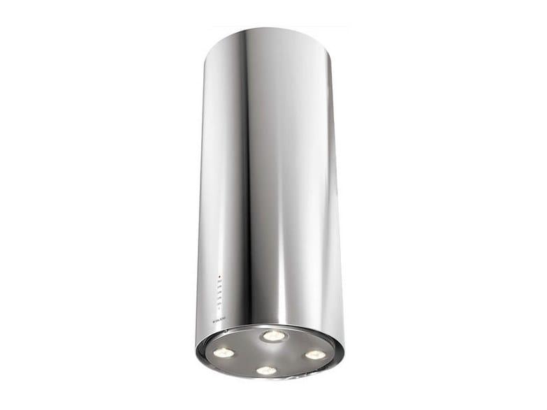 Island hood with integrated lighting GHIP48IX | Cooker hood by Glem Gas