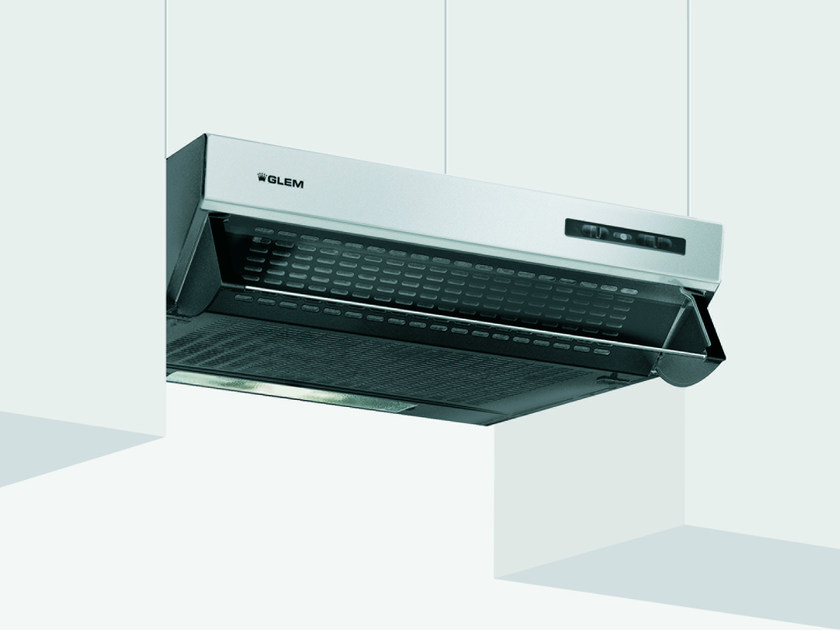 Wall-mounted cooker hood with integrated lighting GHL60IX   Cooker hood by Glem Gas