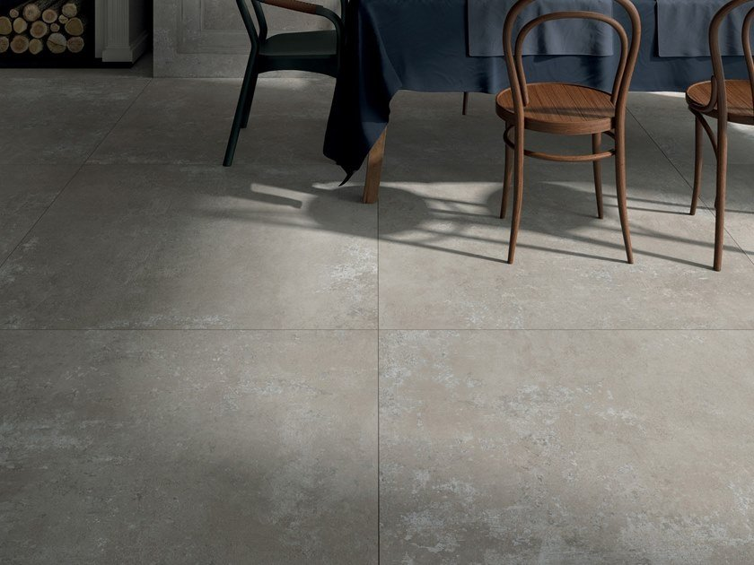 Indoor/outdoor porcelain stoneware wall/floor tiles GHOST by ABK