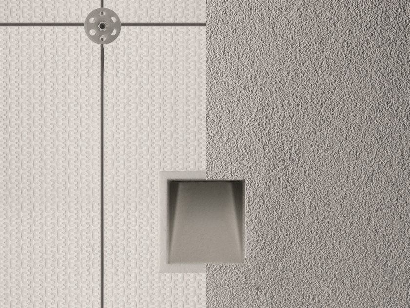 LED wall-mounted outdoor steplight GHOST FOR INSULATION