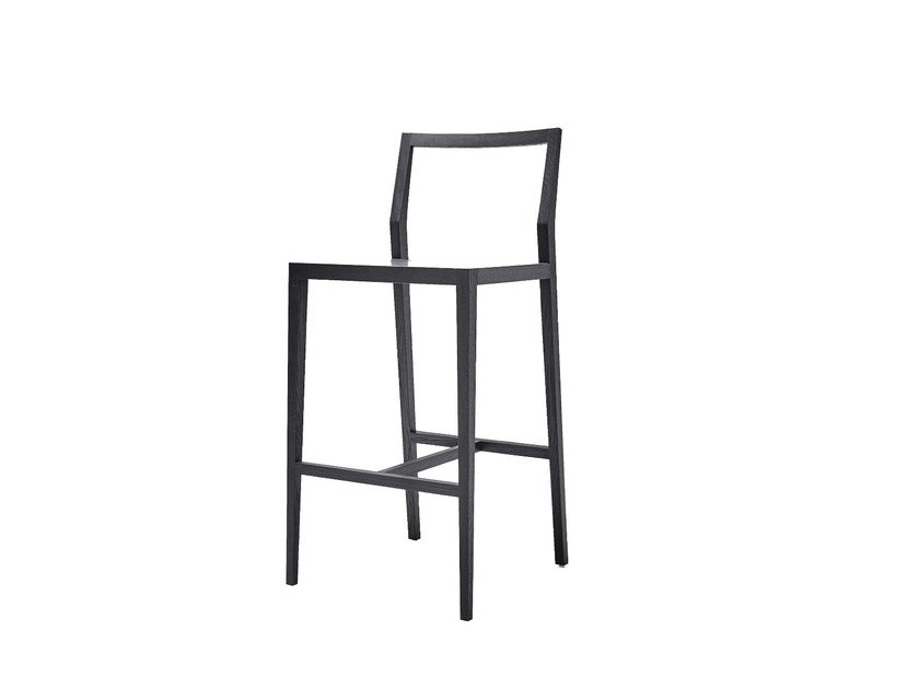Restaurant chair with footrest GHOST   Chair by MINT FACTORY